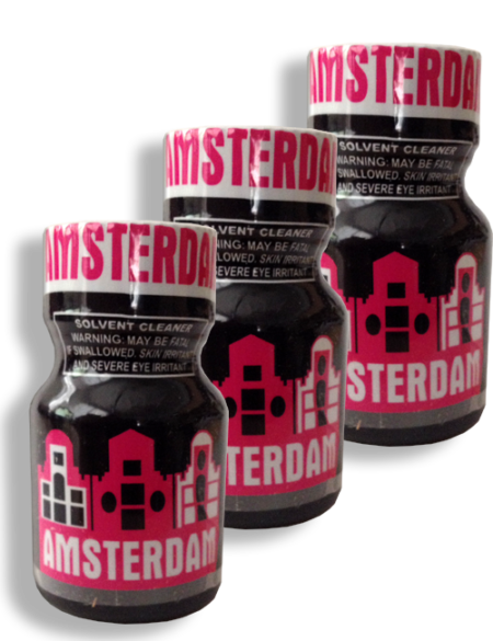 Amsterdam 10ml - 3 Pack