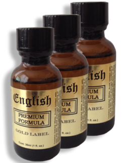 English Premium 30ml - 3 Pack
