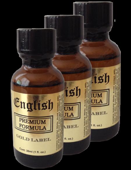 English Premium 30ml - 3 Pack