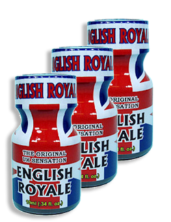 English Royale 10ml - 3 Pack