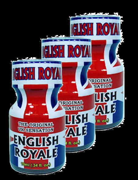 English Royale 10ml - 3 Pack