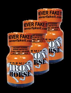 Iron Horse 10ml - 3 Pack