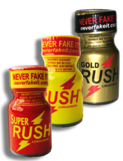RUSH Sampler - 3 Pack