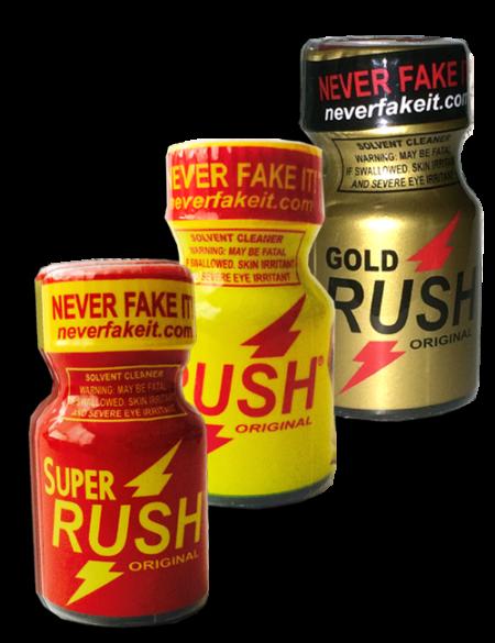RUSH Sampler - 3 Pack