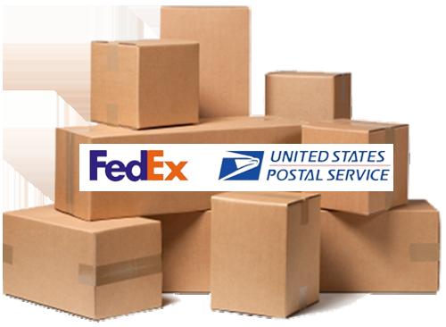 Fedex & USPS Discrete Shipping
