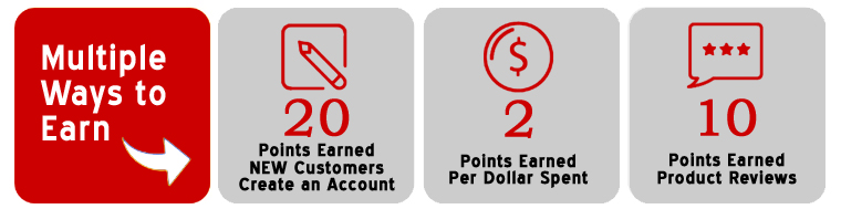 Multiple Ways to Earn Points & SAVE