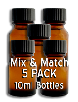 MIX & MATCH - 5 Pack 10ml Bottles