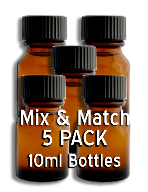 MIX & MATCH - 5 Pack 10ml Bottles
