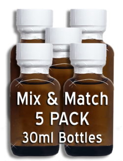 MIX & MATCH - 5 Pack 30ml Bottles