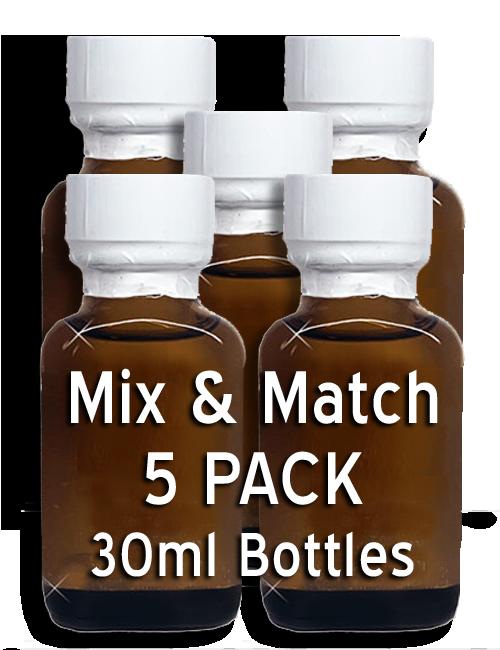 MIX & MATCH - 5 Pack 30ml Bottles