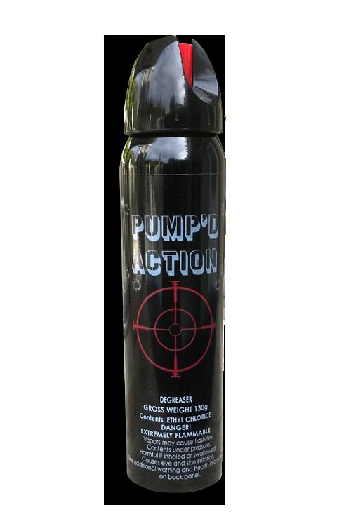 PUMP'D ACTION 4.6 oz Aerosol Ethyl Solvent