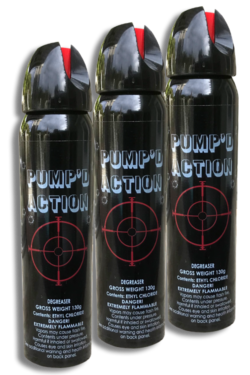 PUMP'D ACTION 4.6 oz Aerosol Ethyl Solvent - 3 Pack