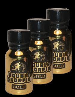 Double Scorpio Gold - 3 Pack